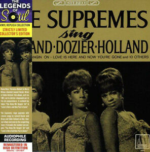 The Supremes : The Supremes Sing Holland-Dozier-Holland CD (2013) ***NEW***