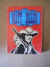 MATT DILLON Harry Bishop Bliblioteca n°5 1977 Avventuroso Pocket [G521]