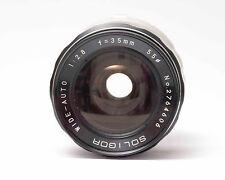 Minolta MD/MC, Soligor Wide-Auto 1:2.8, f=35m Ø55 Objektiv N.1410