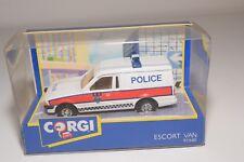 ^ CORGI TOYS 91640 FORD ESCORT 55 VAN POLICE MINT BOXED