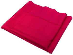 Hot Pink Very Fine Large Pure Wool Scarf (W133)