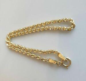 Armband aus 585 Gelbgold Kordel / Seil NEU