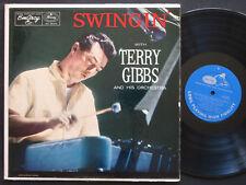TERRY GIBBS Swingin' LP EMARCY MG 36103 US 1956 DG MONO Hal McKusick Al Cohn