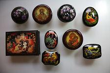 9 wunderschöne Spieluhren und Dosen  - siehe Galeriebilder