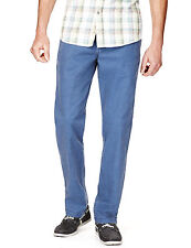 Marks and Spencer Chinos, Khakis Mid Rise Trousers for Men