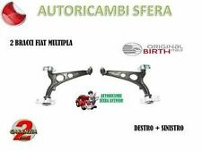 2 BRACCI ANTERIORI BIRTH FIAT MULTIPLA DESTRO SINISTRO - NUOVI - TRAPEZI