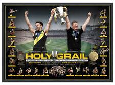 RICHMOND TIGERS 2019 AFL PREMIERSHIP PREMIERS HOLY GRAIL FRAMED MEMORABILIA