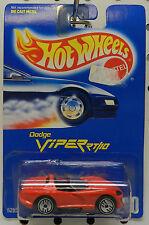 BLUE CARD 210 1992 RED RT/10 ROADSTER BOYS VIPER MOPAR DODGE HW HOT WHEELS