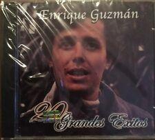 ENRIQUE GUZMAN - 20 Grandes Exitos CD Con Sus Mejores Canciones New Nuevo