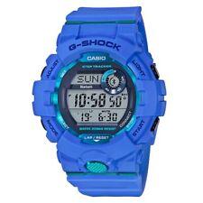 Casio G-Shock * GBD800-2 G-Squad Fitness Step Tracker Bluetooth Watch Blue