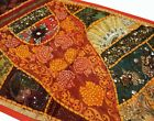 Handmade Antique Cotton Patchwork Table Runner Embroidered Dining Table Tapestry