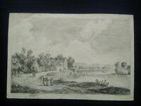 Gravure paysage ALEXIS NICOLAS PERIGNON (1726-1782) XVIIIème LORRAINE