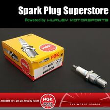 Standard Spark Plugs by NGK - Stock #4677 - BR9ECS - Solid Tip - 10 Pack
