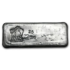 25 oz Silver Bar - Bison Bullion - SKU #93786
