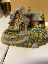 "1995 Thomas Kinkade Enchanted Cottages Collection ""Sweetheart Havencrest Cottage"
