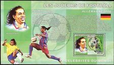 Football Players Ronaldinho De Luxe s/s Congo DR 2006 #CDR0611a