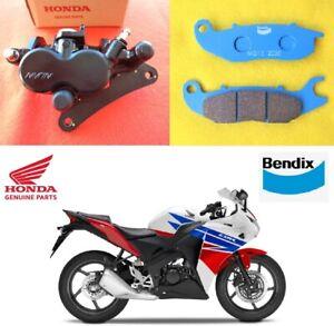 Honda CBR125 R GENUINE Brake Caliper Front + Brake Pads 2011 - 2020 **UK STOCK**