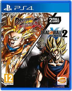 Dragon Ball: Fighter Z + Dragon Ball: Xenoverse 2 (PS4) - New & Sealed - PAL