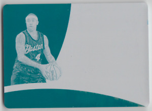 2017-18 Panini Immaculate Isaiah Thomas Special Event Materials Cyan Plate 1/1
