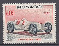 TIMBRE MONACO NEUF N° 710 **  VOITURE DE VAINQUEURS GRAND PRIX  MERCEDES 1936