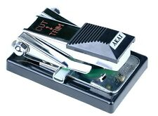 "Black AKAI 1/4"" inch Audio Reel to Reel Tape Splicer AS-3 Box Bag & Instructions"