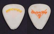 Sponge Fender Custom Shop Concert-Used White Guitar Pick - 1990s Tours
