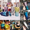 New Portable Travel Mug Stainless Steel Tumbler Coffee Ice Cup w/ Drinking Straw