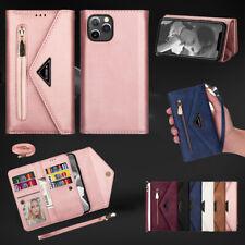 For iPhone 12 11 Pro Max Mini XR XS 7/8/SE Plus Leather Wallet Case Flip Cover