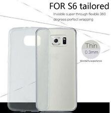 Samsung Galaxy S6 Clear Transparent Gel Jelly Skin Silicone Case - Ex Display