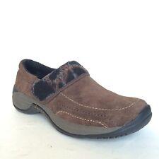 Womens Merrell Moc Shoes Size 7.5 Bracken Suede Ortholite Comfort Moccasins