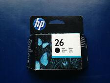 Cartouche HP 26 - 40 ml - noir - originale *NEUVE*