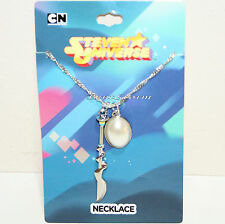 Cartoon Network Steven Universe Faux Pearl Gem Dagger Pendant Chain Necklace NEW