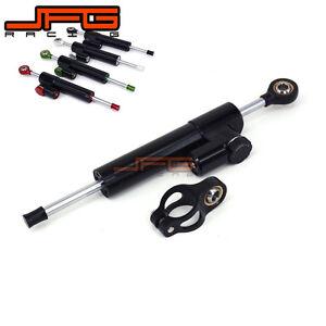 Steering Damper Stabilizer Reversed For YZF R1 YZFR6 FZ6R XJ6S XJR400 FZ1