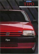 Fiat Tipo 1.4 1.6 1.7D 1.9 Tds DGT SX 1988-90 Original UK Sales Brochure