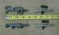 Toy guns Action figure arsenal 4 total plastic military accessory toys