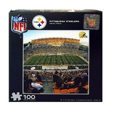 NFL Steelers Puzzle 100pc - NFL Steelers Kids Puzzle - Steelers Puzzle Game