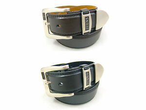 "NEW MENS LEATHER BELTS 1.5"" BELTS JEAN BELTS BLACK AND BROWN"