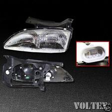1995-1999 Chevrolet Cavalier Headlight Lamp Clear lens Chevy Halogen Left Side
