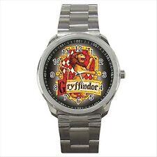Harry Potter Gryffindor Calidad deporte Metal reloj de pulsera De Regalo