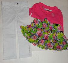 Calvin Klein 3 ANNI SET Coprispalle Jeans 3PC MAGLIA RAGAZZE AUTH