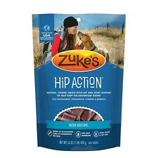 Zukes Hip Action Dog Treats Economy Variety 3pack 1 Pound Of Each Flavor