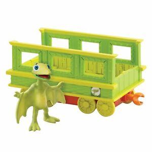 Dinosaur Train Tiny with Train Car Learning Curve Dinosaur Train, Collectible