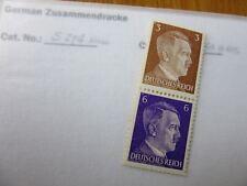 EBS Germany 1941 Hitler Zusammendrucke / se-tenant pair Michel S274 MH*