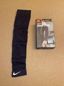 Nike Baseball Adult Pro Hyperwarm Arm Sleeve (1) DRI-FIT Compression Black S/M