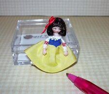"Miniature E. Hicks Angel Children Porcelain Doll ""Snow White #2"" DOLLHOUSE 1:12"
