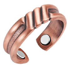 Bague magnétique en cuivre avec aimants - Bartus