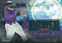 Nolan Arenado 2020 Topps Stadium Club Power Zone #PZ-22 Colorado Rockies