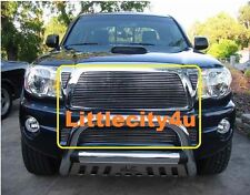 FOR 05 06 07 08 09 10 Toyota Tacoma Billet Grille Grill Combo Inserts cutout