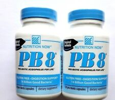 Nutrition Now PB 8 Probiotic Acidophilus Gluten Free Digestion Support 240caps