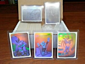 1990 Marvel Universe Series 1 Trading Cards COMPLETE BASE SET, #1-162 + HOLO SET